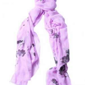 Lilac Gingko flower scarf 25% off